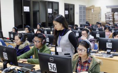 Cho thuê laptop tổ chức thi chứng chỉ ngoại ngữ tiếng anh TOEIC IELTS TOEF tại TPHCM