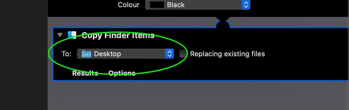 Bước 5: Hộp thoại Copy Finder Item