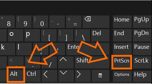 Cách chụp màn hình laptop asus bằng Print Screen