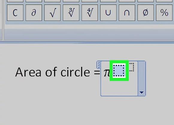 Cách viết số mũ trong WordvớiEquation Editor