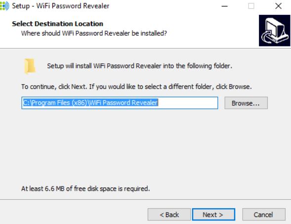 Sử dụng Chương trình tìm mật khẩu Wi-Fi