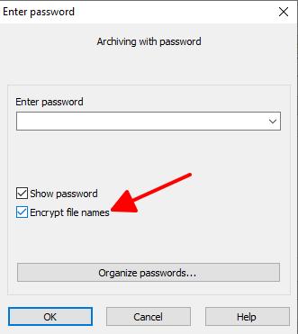 Cách đặt mật khẩu cho Folder bằngWinRar