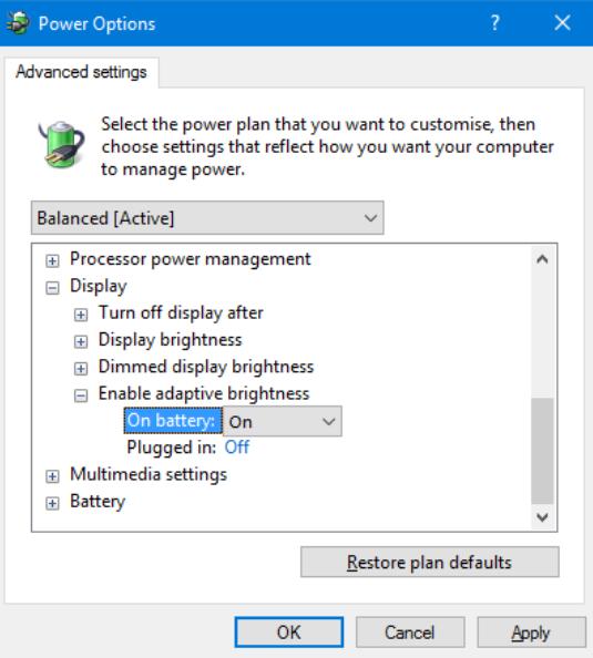 chỉnh độ sáng màn hình máy tính