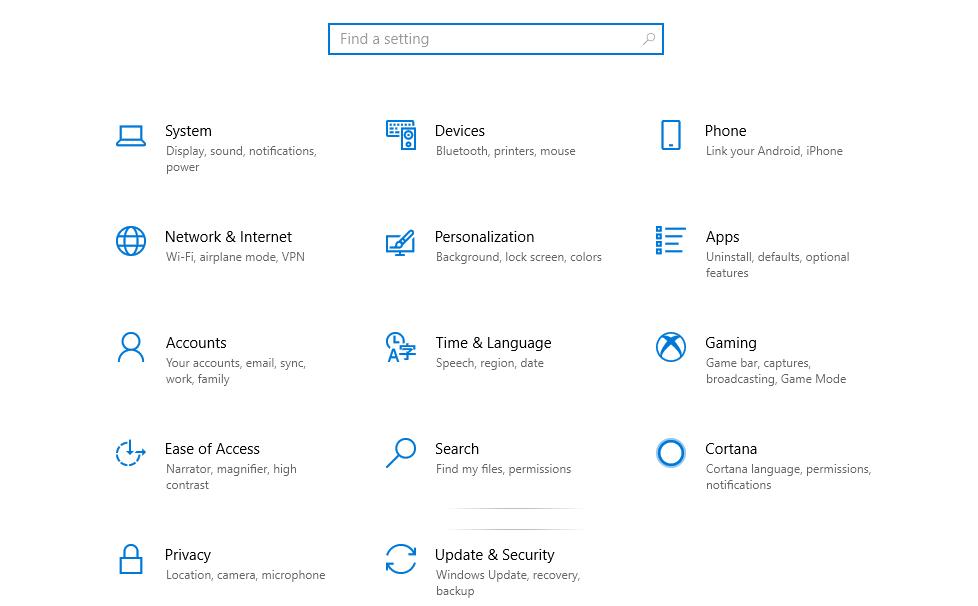 tắt window update trên Win 10 -thay đổi tùy chọn